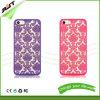 iPhone plástico 6/6s del diseño magnífico de la flor más la caja del teléfono (RJT-0141)