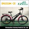 Vélo électrique de modèle de ville avec la batterie au lithium et le frein à disque
