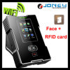 Zeit-Anwesenheits-System TCP/IP/USB Communiction des Screen-RFID GesichtsWiFi biometrisches