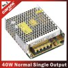 40W S Series Normal Single Output Switching Power Supply (S-40W)