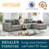 La Doubai moderna Fabric Sofa con Adjustable Headrest (2039)