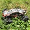 Красное безщеточное тело вагонного лака металла автомобиля 1:10 4WD электрическое RC