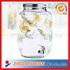 Glas Dispenser voor Bevrage en Wine Jar met Tap