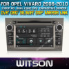 Opel Vivaro (W2-D8828L)를 위한 GPS를 가진 Witson Car DVD Touch Screen Steering Wheel Control WiFi 3G RDS