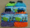 Doppeltes versieht Chenille-Auto-Wäsche-Reinigungs-Handschuh mit Seiten
