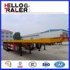 La Cina ha fatto il tipo a base piatta rimorchio dell'Tri-Asse di 40FT semi