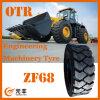기계장치 타이어를 설계하는 E-3/L-3 타이어, 비스듬한 OTR 타이어