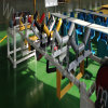 HDPE van de Schijf van het Effect van de Transportband van de Riem van het Vervoer van de mijnbouw draagt de Openlucht Rubber Vlakke RubberTrog van het Roestvrij staal van het Staal de Rol van de Terugkeer weegt Nuttelozere Broodjes