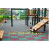 Paver высокой ранга цветастый резиновый/резиновый плитки настила для детсада
