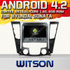 Witson Android 4.2 System Car DVD для сонаты 2011/I40/I45/I50 Hyundai