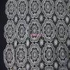 Nouveau Flower Design Lace Fabric pour Garment