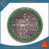 Moneta su ordinazione di sfida del ricordo militare antico del blu marino