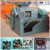 Poudre de charbon de bois de qualité effectuant la machine/boule appuyer