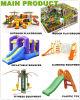 Nouveau Multi Play Children Outdoor Climbing Equipment pour Public Park avec Slide