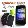 3,5 polegadas Capacitive Screen GPS WiFi Mtk6513 Android 2.3 Smart Phone G20