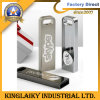 USB novo do logotipo do metal do projeto para o presente relativo à promoção (KUSB-004)