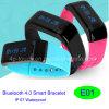 Pulsera elegante del IP 67 Bluetooth 4.0 impermeables (E01)