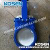 연성이 있는 철 DIN 칼 게이트 밸브 (PZ73)