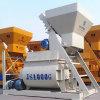Misturador concreto elétrico estacionário do eixo gêmeo mini (Js1000)