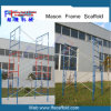 American Standard Paseo a través del marco para la construcción de andamios