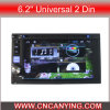 6.2  GPS를 가진 2DIN General Android, Bluetooth를 위한 특별한 Car DVD Player. (AD-8583)