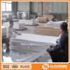 Hoja de aluminio con el papel interpolado o película del PVC cubierta
