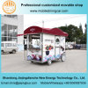 Matériel mobile électrique chaud de cuisine de Withopyional de remorque de restauration d'aliments de préparation rapide de ventes