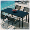 Mode Outdoor Furniture Dining Table avec Toughened Glass