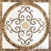 De vierkant Gevormde Kunst van het Mozaïek van de Straal van het Water van het Medaillon Marmeren (versus-ASQC95)