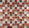 예술적인 Mosaic, Glass Mosaic Decoration, Gold Foil Crystal Mosaic (23FJ03)