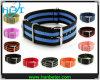Großverkauf 2014 Unsex Form-bunte auswechselbare Nylonbrücke-Uhr (NW01)