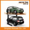 2 het postSysteem van de Lift van het Parkeren van de Laag van het Niveau van 2 Vloer Dubbele voor Garage van de Auto van SUV en van de Sedan de Mechanische