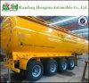 4 de Tanker van de Brandstof van de Aanhangwagen van de Tanker van Disel van assen