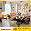 EUA Mobiliário de sala de estar moderno Conjunto de sofá secional de tecido macio