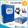 Regulador solar Smart2-60A de MPPT 12V/24V/48V 60A Controller+CD-ROM