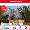 Due Floors Prefab House Built con Steel Structure