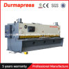 Máquinas de estaca hidráulicas de QC11k para tesouras elétricas de corte da máquina Do CNC de Rod de aço/operação fácil para o metal de folha