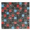 Mattonelle di mosaico di vetro, mattonelle di mosaico di pietra, mattonelle di mosaico del metallo
