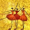バレエダンサー図は印刷する壁の芸術(SJMY220)を