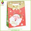 Популярный мешок подарка печатание Santa Claus