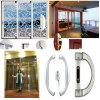 Deslizamento bonito do alumínio das opções/porta de vidro do pátio como o divisor de quarto