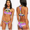 Digital-Blume gedruckter Dame-reizvoller Bikini