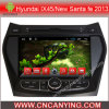 Car DVD Player for Pure Android 4.4 Car DVD Player with A9 CPU Capacitive Touch Screen GPS Bluetooth for Hyundai IX45 (AD-8022)