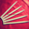 長沙からの環境に優しく使い捨て可能な寿司のタケ箸