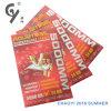 Etiket Van uitstekende kwaliteit 227 van de Sticker van het Etiket van de Druk van de Douane van de fabriek Goedkoop