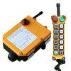 Teledirigido de radio sin hilos del alzamiento industrial de la grúa de la velocidad doble (F24-12D)
