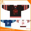 Camicia poco costosa del pullover del hokey di ghiaccio di sublimazione su ordinazione di Healong