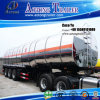 트랙터를 위한 합금 탱크 트레일러를 수송하는 3 차축 우유