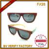 Lunetterie en bois bon marché d'Auduted de &BV de lunettes de soleil de Handemade