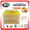 CE Approved Mini Automatic Chicken Egg Incubator de hachure Rate de 98% pour 96 Eggs
